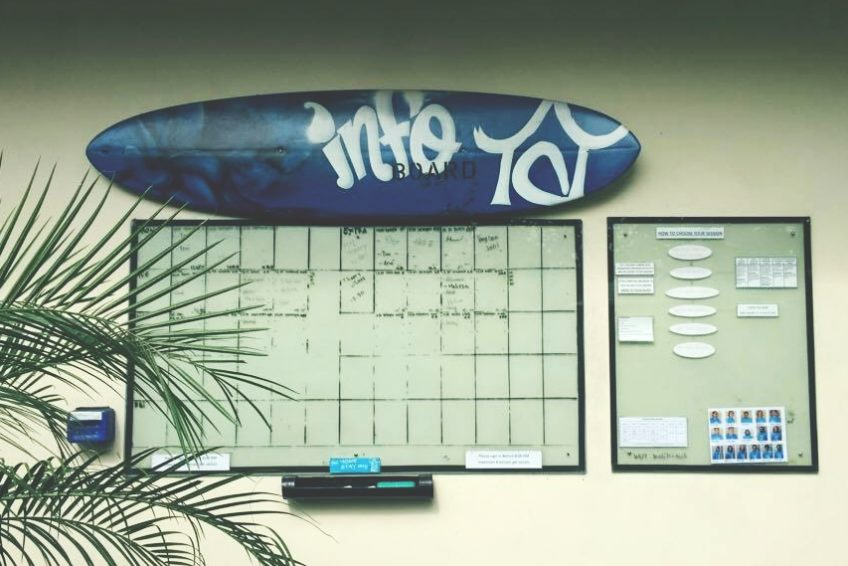 Surfboard-Whiteboard