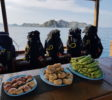 Tauchen-Komodo-Nationalpark-essen