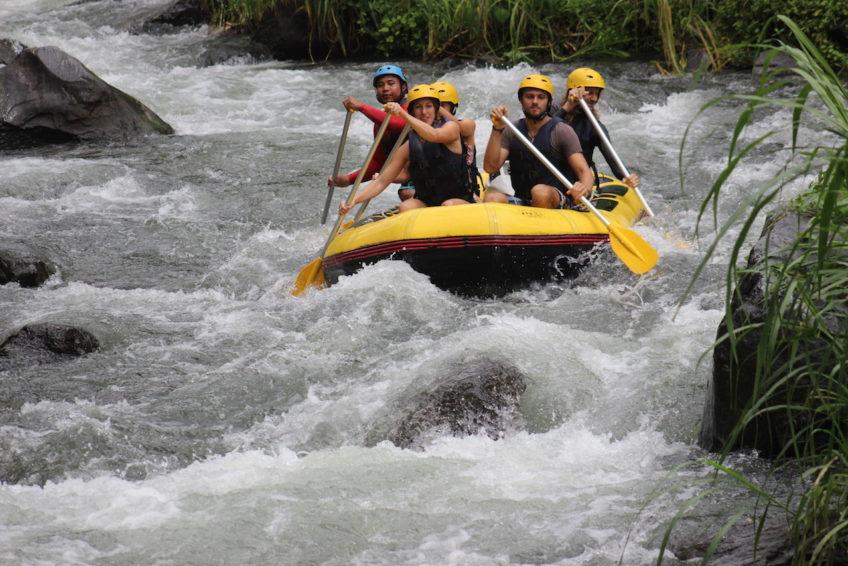 Rafting Telaga Waja River