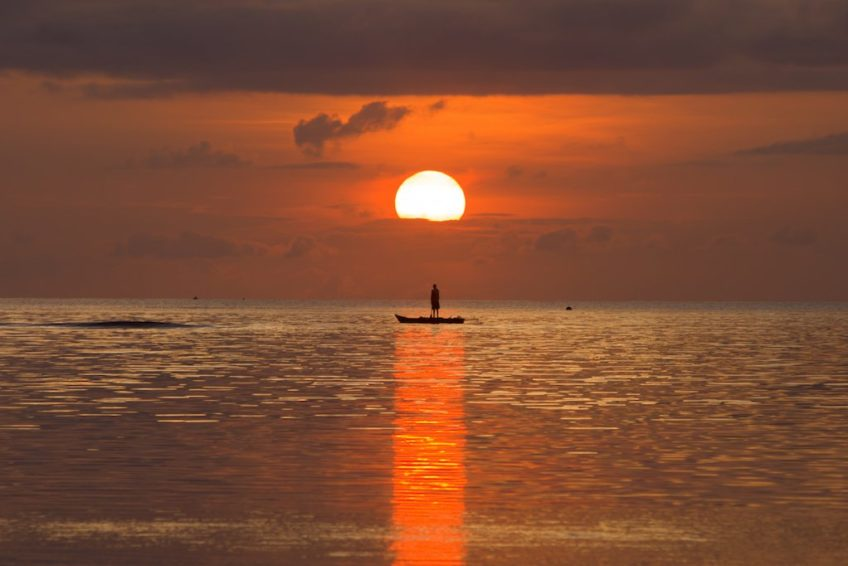 Biak-Sonnenuntergaenge