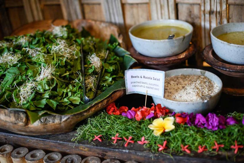 TheYogaBarn-GardenKafe-buffet
