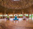 Tammy Assanoff, Yvonne Ohnewas, & Dinah Machm¸ller at the Yoga Barn, Ubud Bali