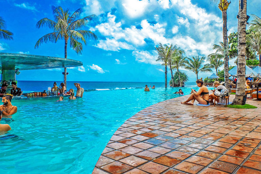 Pool auf Bali