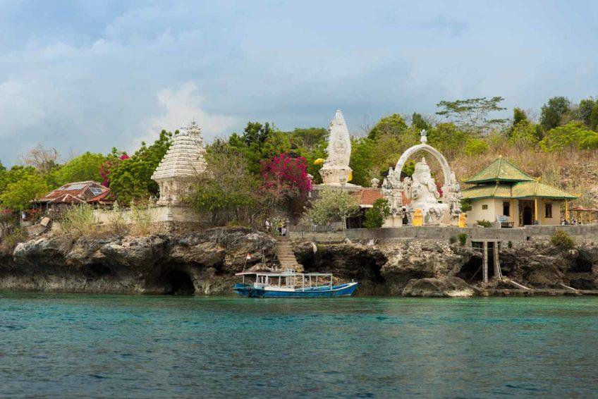 Klares Wasser in Menjangan Island