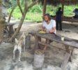 zwei hungrige Mäuler am Atuh Beach